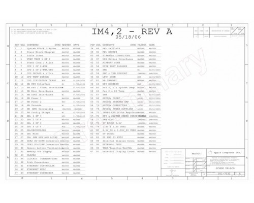APPLE IMAC A1195 SCHEMATIC