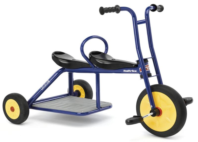 Italtrike Carry Small Double Seat Tricycle 9020ATL On Sale Now