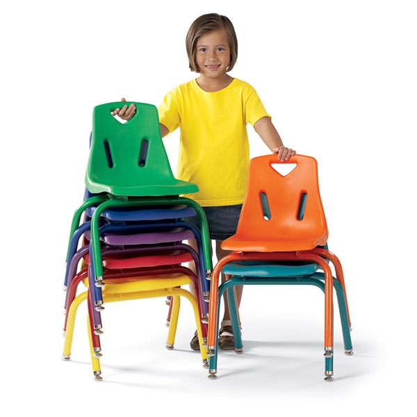 kitchen chair seat replacement lights berries plastic stackable chairs w/ matching legs, jonti-craft