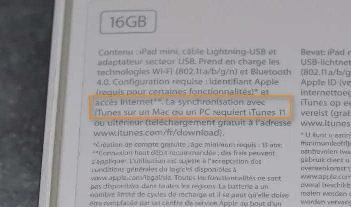 El iPad mini requiere iTunes 11 para funcionar, pero aún