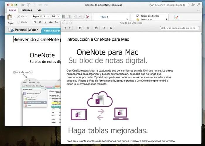 Microsoft lanza OneNote para Mac de forma gratuita