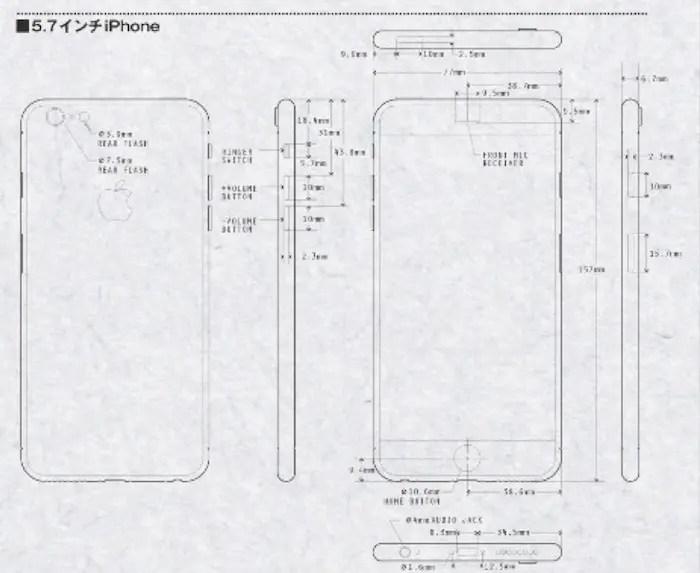 Aparecen los posibles bocetos del iPhone 6c