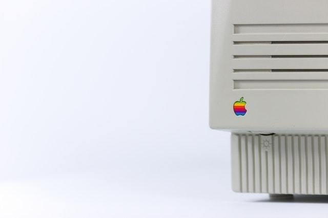 vintage apple mac