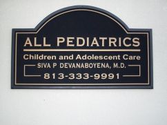 Sign Example - All Pediatrics
