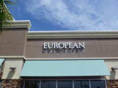 Sign Example - European Wax Center