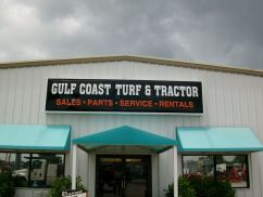 Sign Example - Gulf Coast Turf & Tractor
