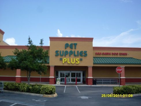Sign Example - Pet Supplies Plus
