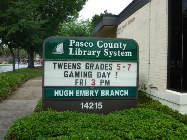 Sign Example - Library