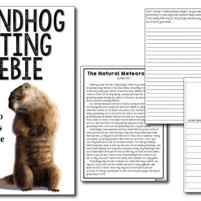Groundhog's Day Writing Freebie
