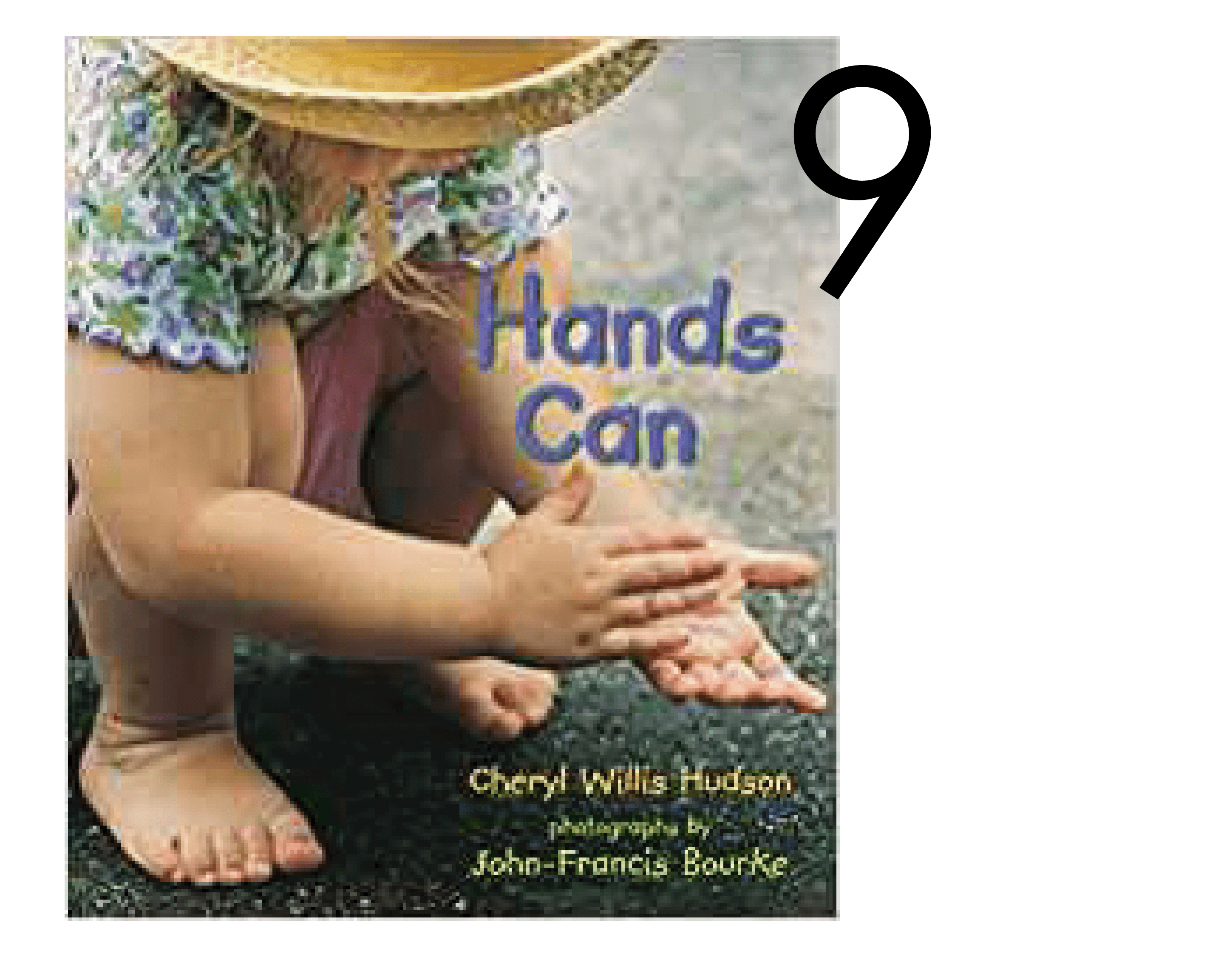 Hands Can in a Collection of Christmas and Holiday Books for Apple Slices