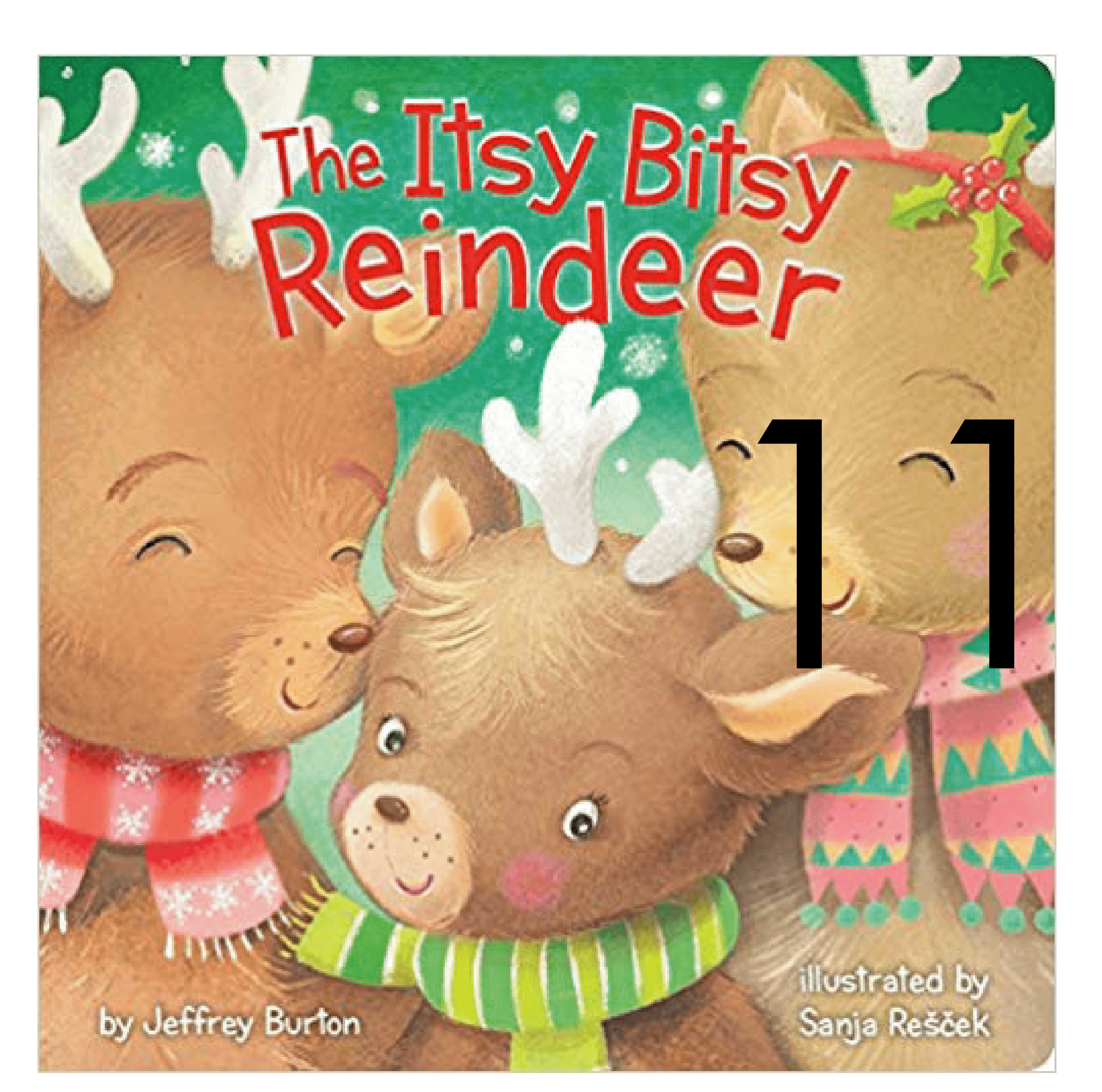 The itsy Bitsy Reindeer Collection of Holiday and Christmas Books for Apple Slices