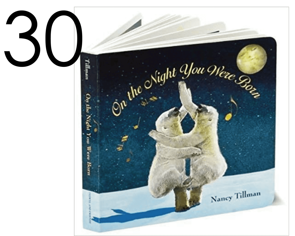 On the Night You Were Born List of Holiday Books