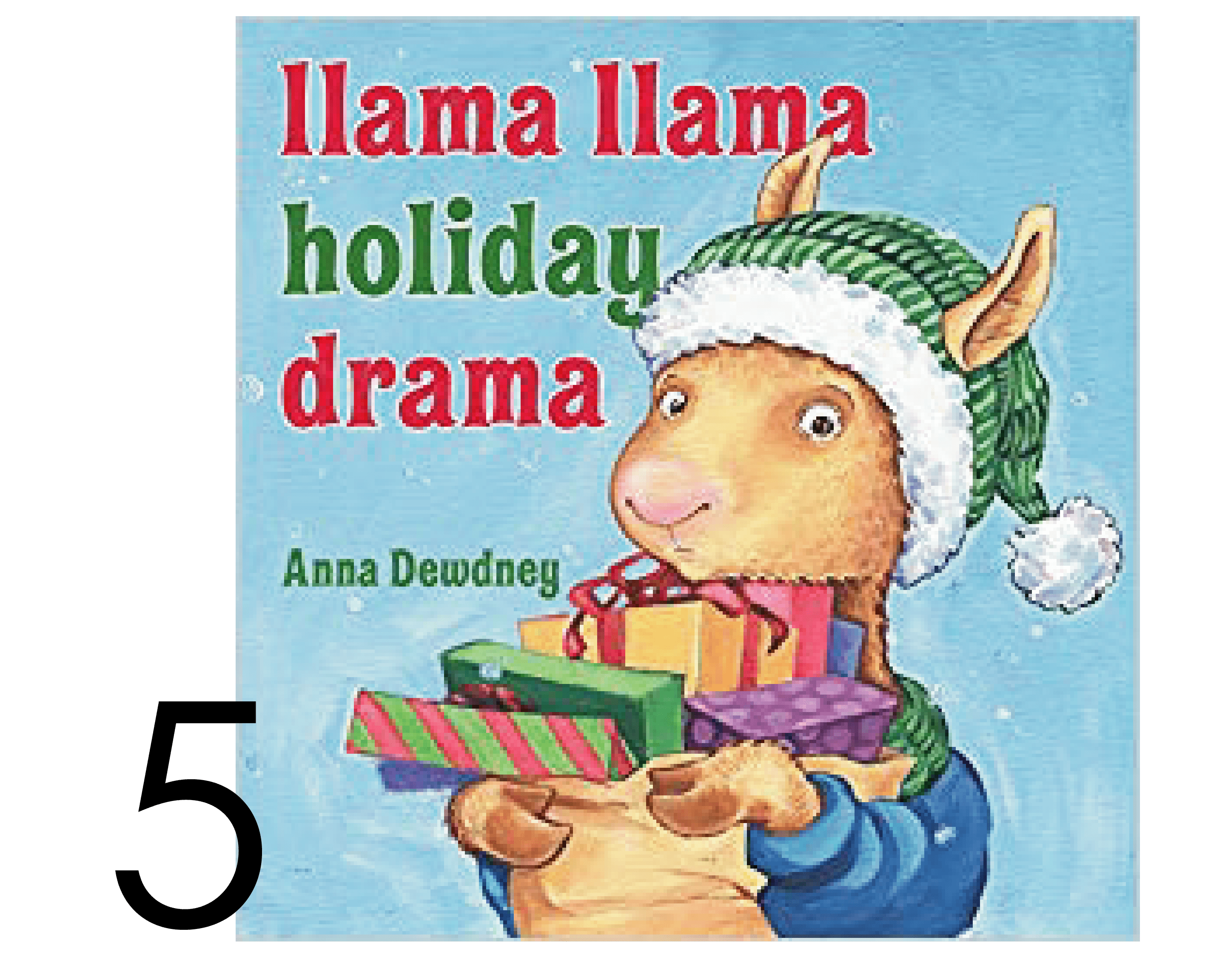 Llama Llama Holiday Drama Collection of Chrisrmas and Holiday Books
