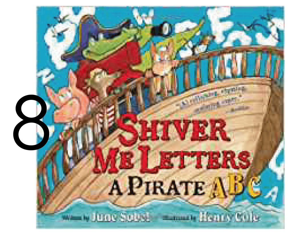 Shiver Me Letters A Pirate ABC in a Collection of Holiday and Christmas Books for Apple Slices