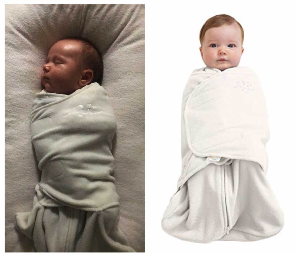Amazon must have for baby's first month velcro swaddle and sleep sack