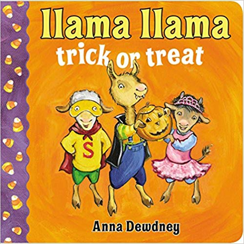 Llama Llama trick or treat book cover