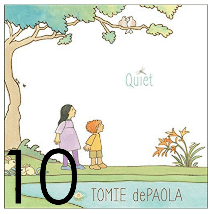 Quiet Christmas and Holiday Book Countdown