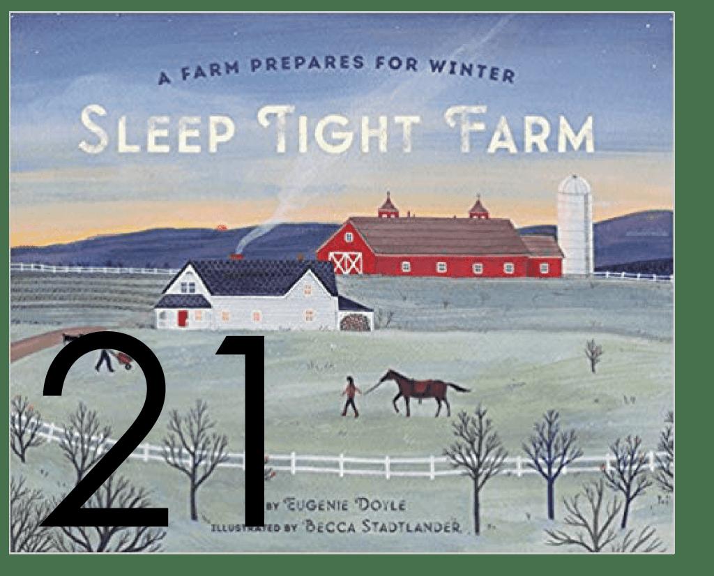 Sleep Tight Farm Christmas and Holiday Book Countdown