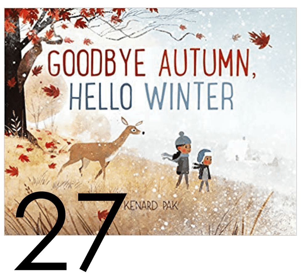 Goodbye Autumn, Hello Winter Christmas and Holiday Book Countdown