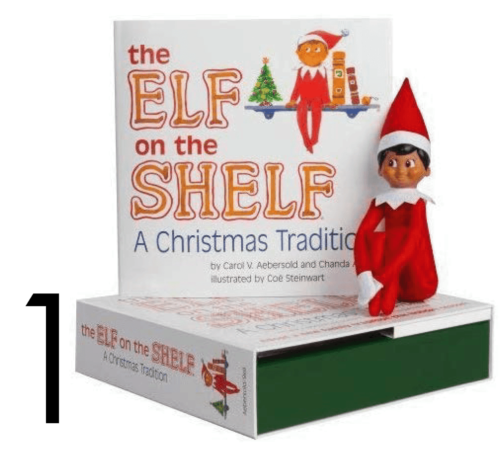 Elf on the shelf Christmas and Holiday Book Countdown