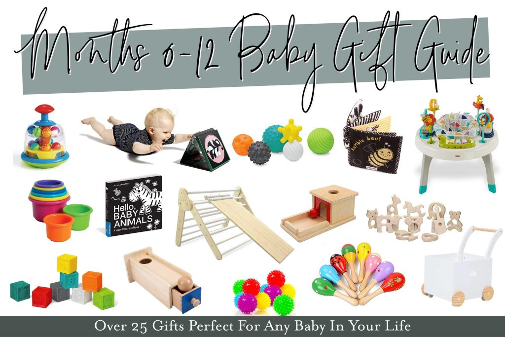 The perfect list of baby gifts for babies of all ages.