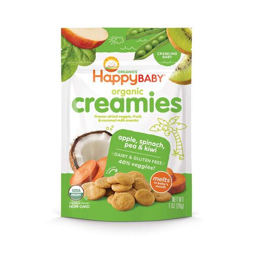 Organic dairy free and gluten free vegetable bites for your baby