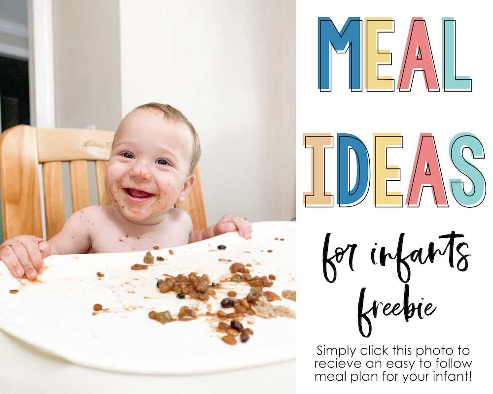 Meal Ideas for Infants product link
