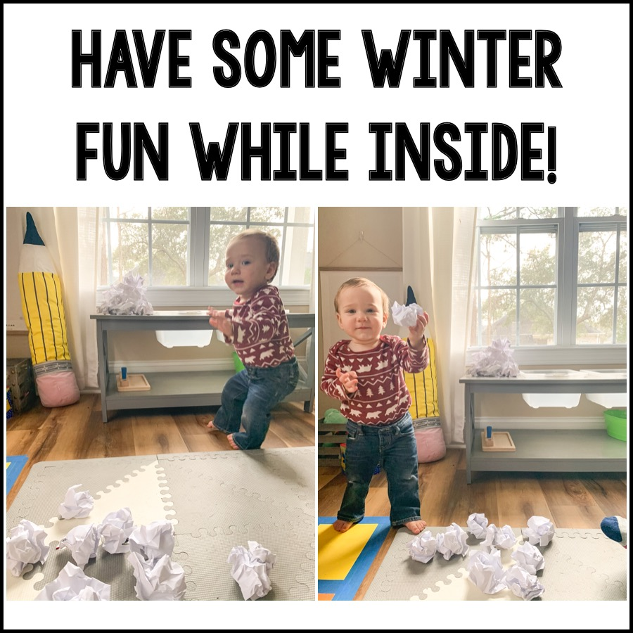 Have some Winter fun while inside!