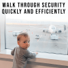 Walk through airport security quickly and efficiently