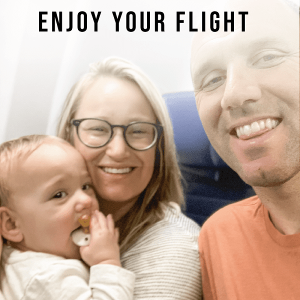 Enjoy your flight with your family