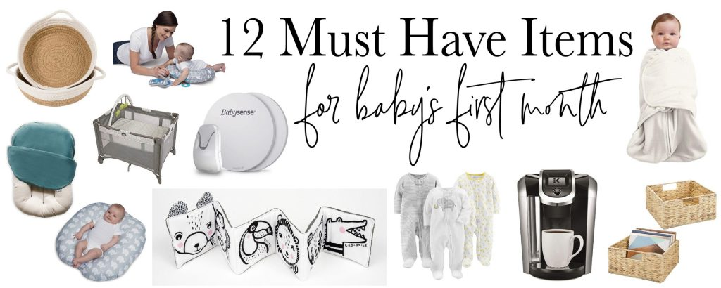 12 Amazon must have items for a baby's first month