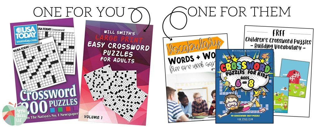 Free crossword puzzle for little kids