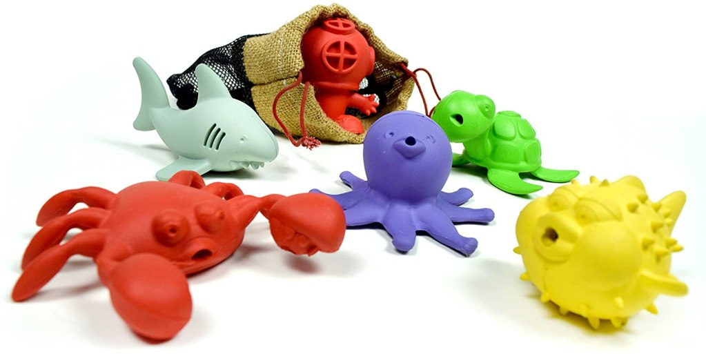 Fun squirting sea creatures for kids