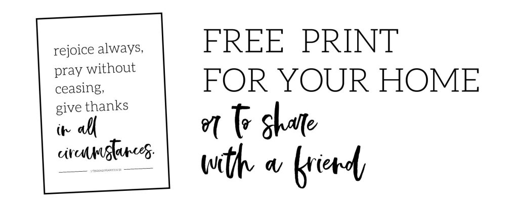 Free print for your home to support pregnancy loss