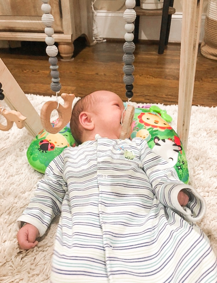 support your 3-month-old's development with fun toys for them to see and interact with