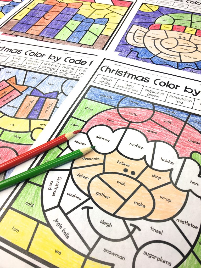 medium resolution of Christmas Activities for Kids - Appletastic Learning