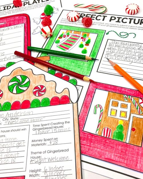 small resolution of Christmas Activities for Kids - Appletastic Learning