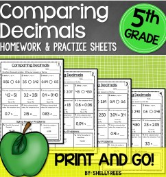5th Grade Math Worksheets Free and Printable - Appletastic Learning [ 1400 x 1400 Pixel ]