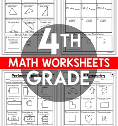 4th Grade Math Worksheets Free and Printable - Appletastic Learning [ 1800 x 1173 Pixel ]