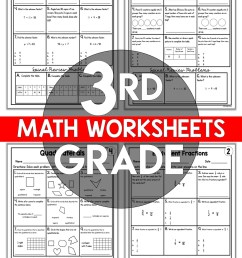 3rd Grade Math Worksheets Free and Printable - Appletastic Learning [ 1800 x 1173 Pixel ]