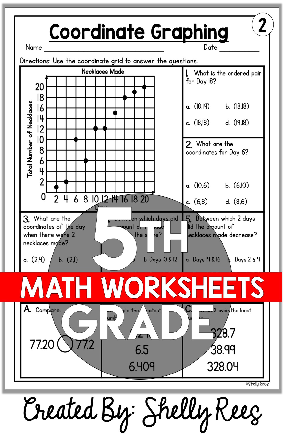 5th Grade Math Worksheets Free And Printable