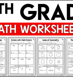 4th Grade Math Worksheets Free and Printable - Appletastic Learning [ 933 x 1400 Pixel ]