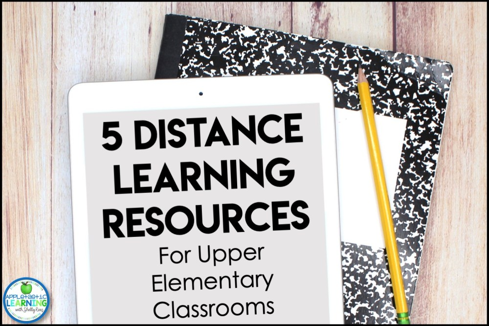 medium resolution of 5 Distance Learning Resources for Upper Elementary Classrooms - Appletastic  Learning