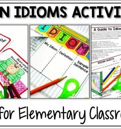 5 Fun Idiom Activities - Appletastic Learning [ 933 x 1400 Pixel ]
