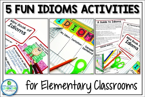 small resolution of 5 Fun Idiom Activities - Appletastic Learning