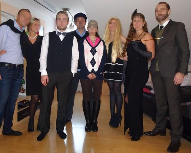 Mörderische Dinnerparty, die Kostüme