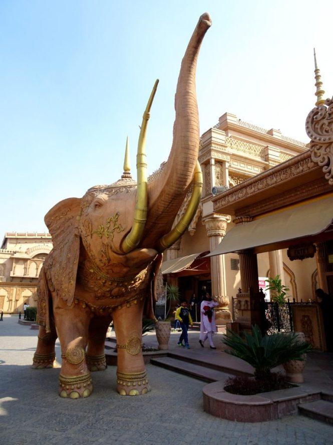 kingdom of dreams elefant