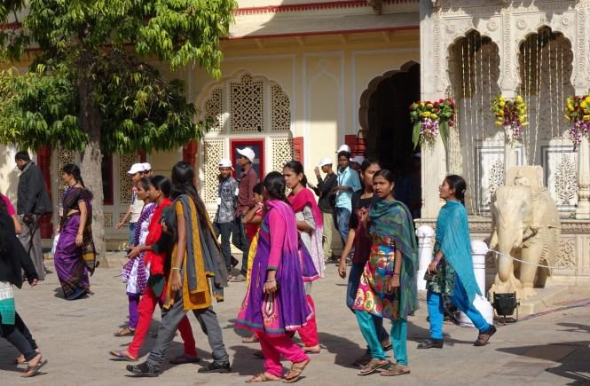 kurti und saree indien urlaub