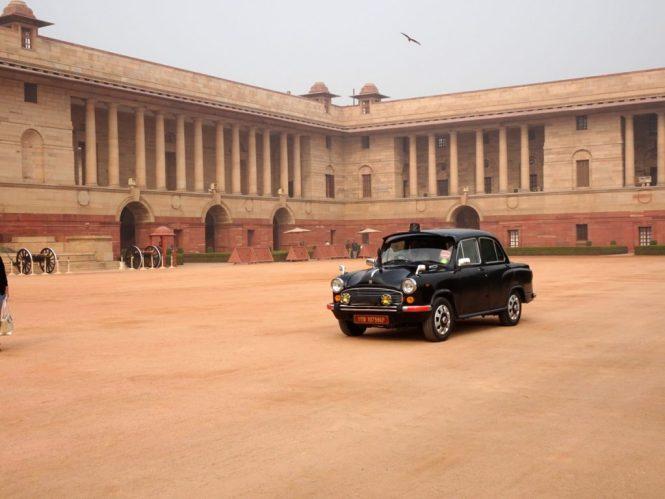 präsidentenhaus delhi car