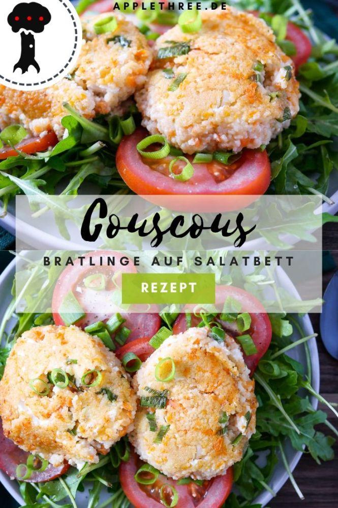 couscous bratlinge rezept